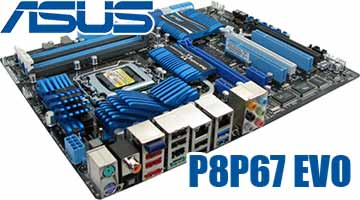 ASUS P8P67 EVO Sandy Bridge Motherboard @ Benchmark Reviews