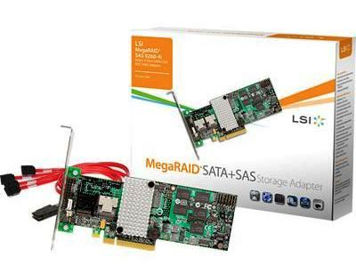 LSI MegaRAID 9260-8i 6G Review – 2 5GB/s Speed Through 8