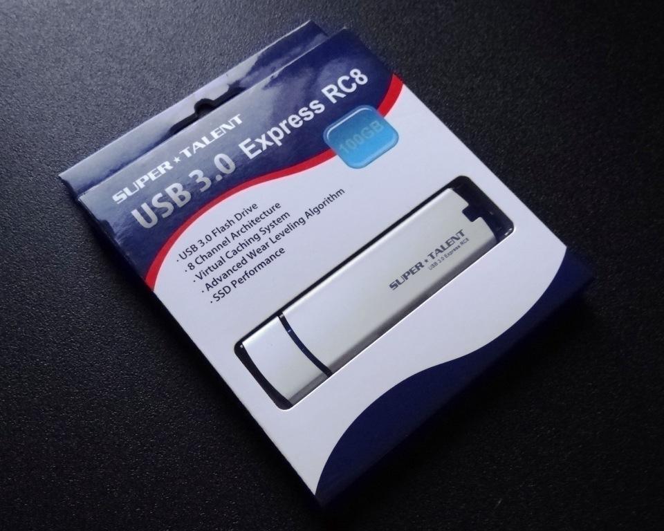 super talent usb3 express rc8 100gb flash drive review. Black Bedroom Furniture Sets. Home Design Ideas