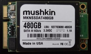 Mushkin Atlas 480GB PCB Front