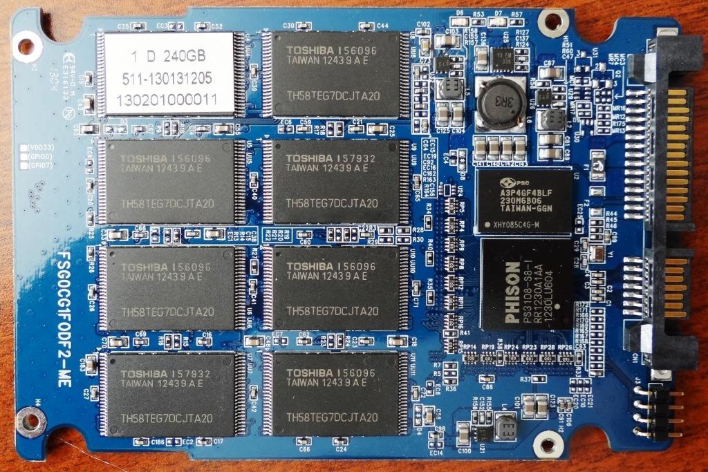 MyDigitalSSD BP4 PCB Front