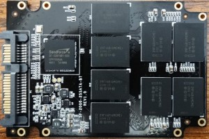 Kingspec Challenger E3000 SSD PCB Front