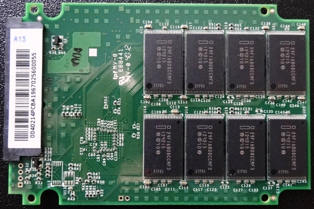OCZ Vertex 3.20 PCB Back