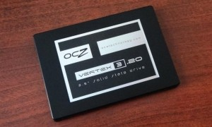 OCZ Vertex 3.20 SSD Angled
