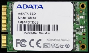 ADATA XM13 SSD Front