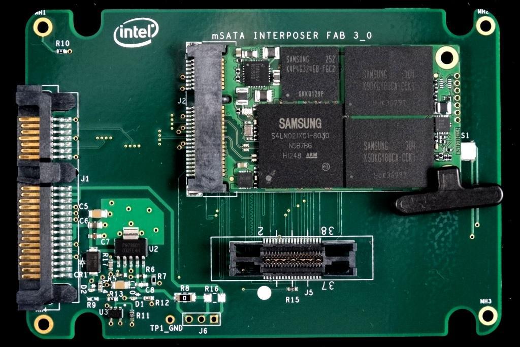 Samsung PM841 512GB mSATA SSD Adapter 1