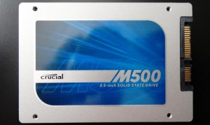 Crucial M500 960GB SSD SSD Front