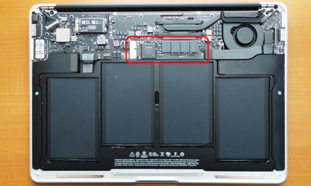 2013 MacBook Air Disassembled