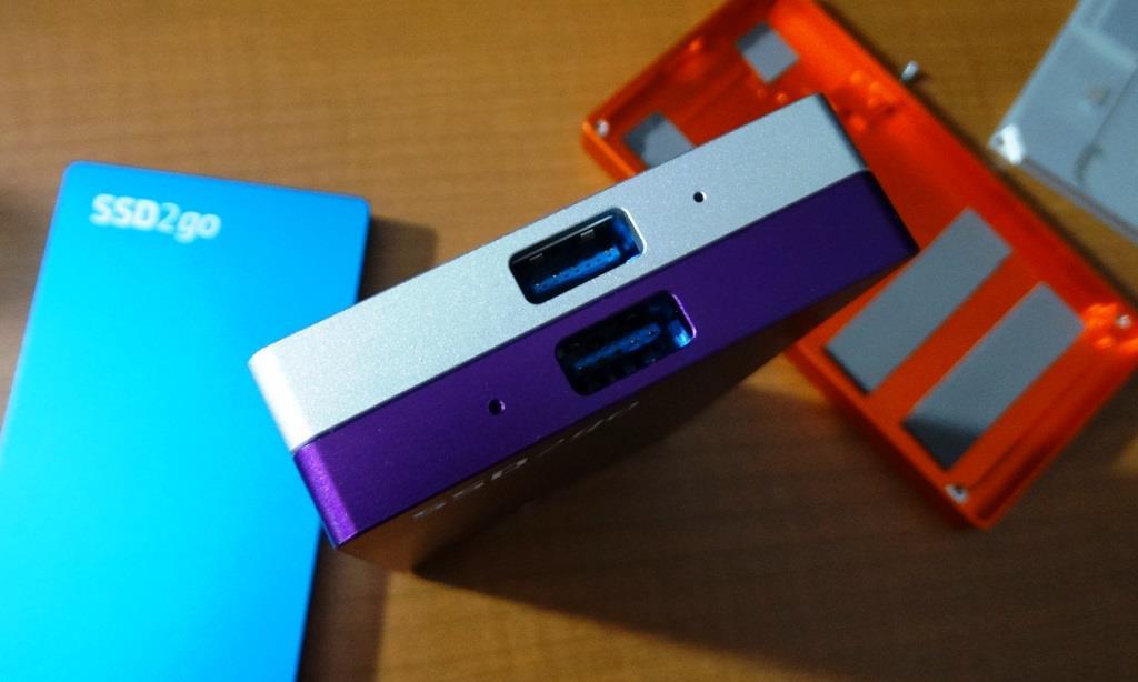 Angelbird SSD2Go External Dual SSD
