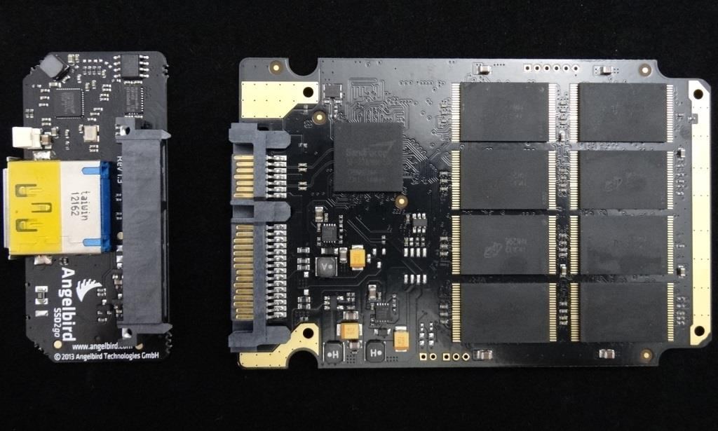 Angelbird SSD USB3 Assembly