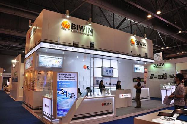 Biwin booth