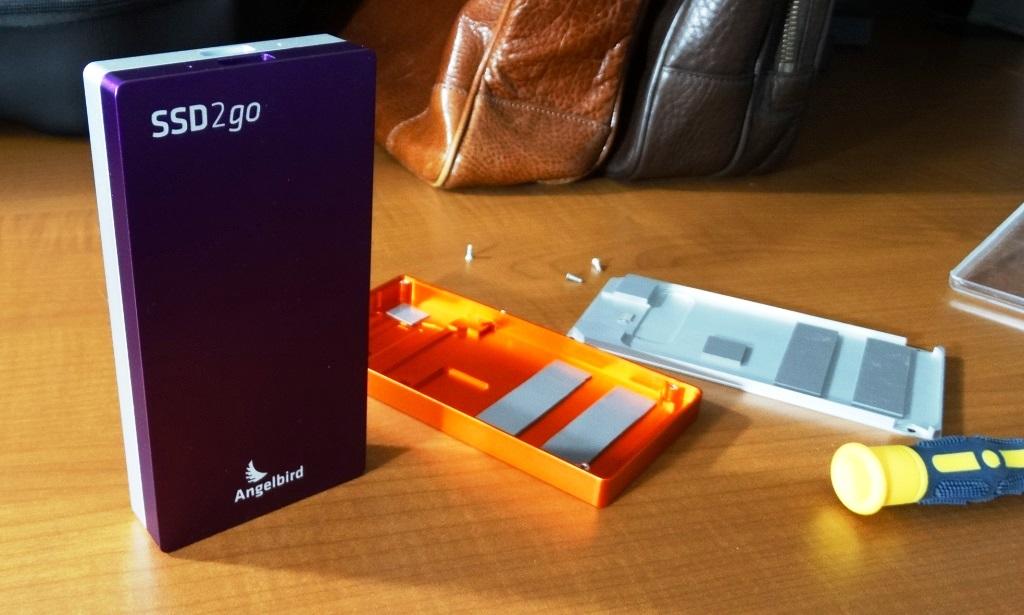 Angelbird SSD2Go Dual External SSD