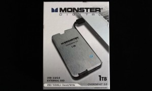 Monster Digital OverDrive 3.0 1TB Exterior Front