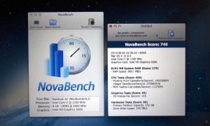 2013 MacBook Air NovaBench