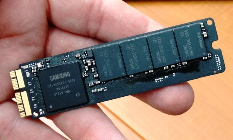 Samsung PCIe 2013 MacBook Air