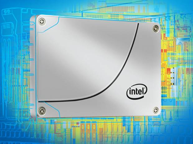 Intel SSD stock image