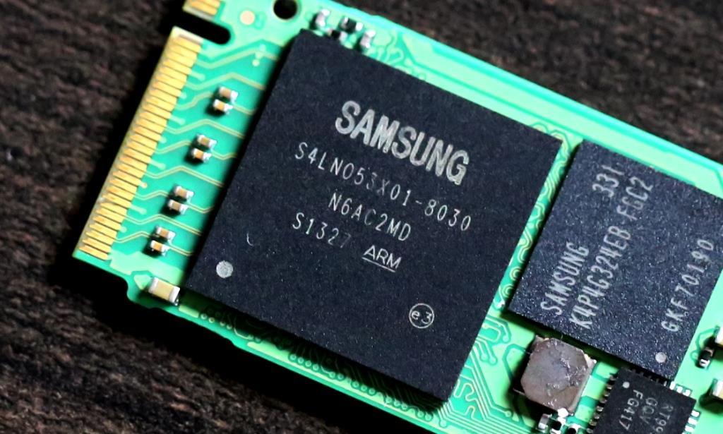 Samsung XP941 512GB M2 SSD Controller