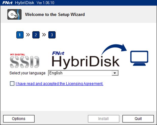HybriDisk e.u.l.a.