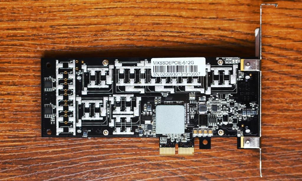 Mach Extreme MX Express PCIe SSD Back