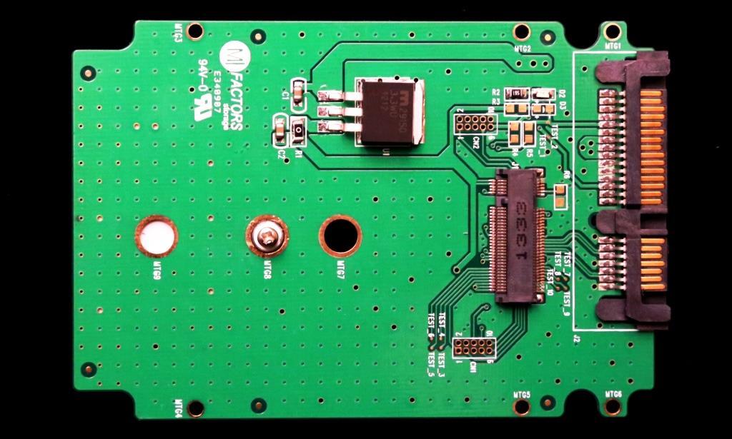 MFactors SATA M.2 Adapter