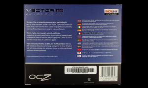 OCZ Vector 150 SSD Exterior Back