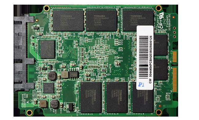 OCZ Vector 150 SSD PCB Back