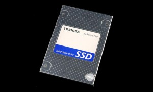 Toshiba Q Pro SSD Angled