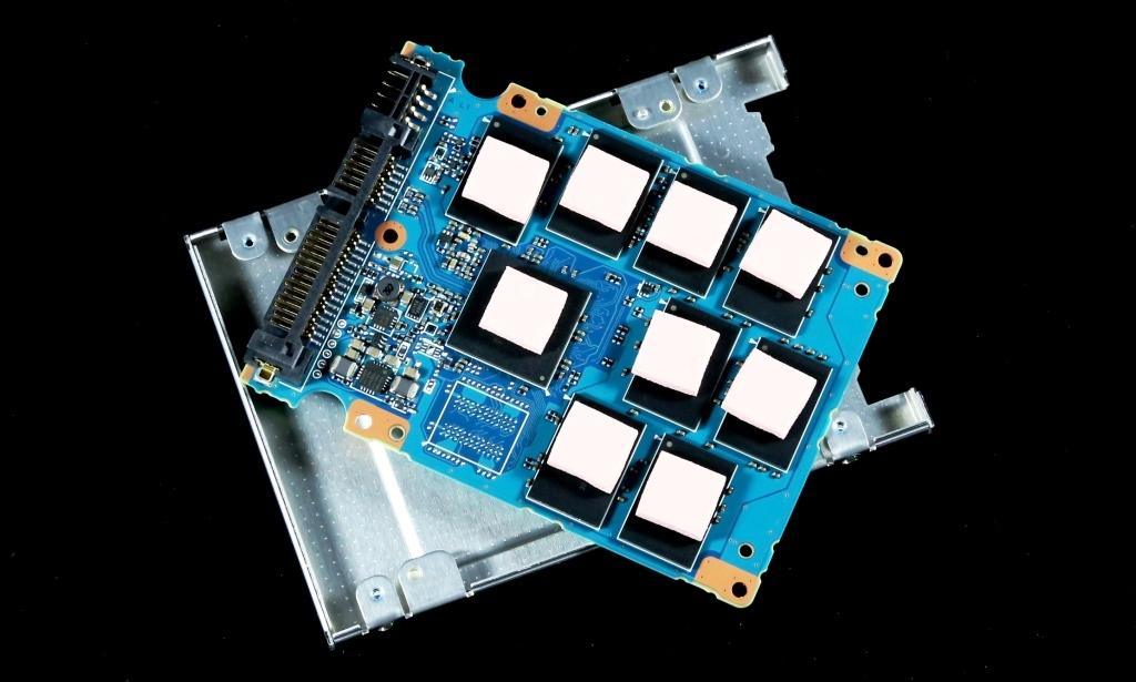 Toshiba Q Pro SSD Insulation