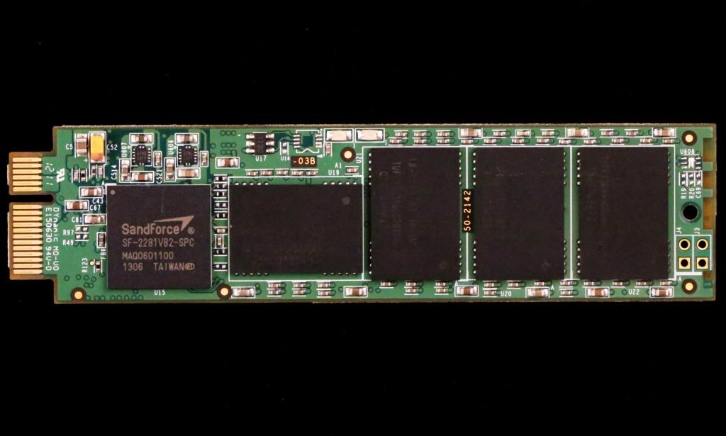 VisionTek Data Fusion PCIe SSD Blade Front