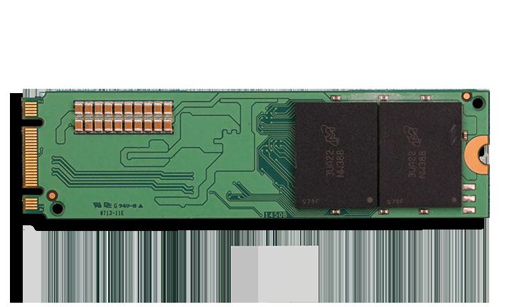 Crucial M500 M.2 NGFF SSD Back