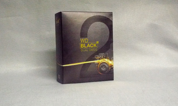 Retail box front side