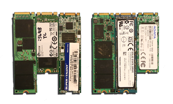 Various M.2 SSDs Explained