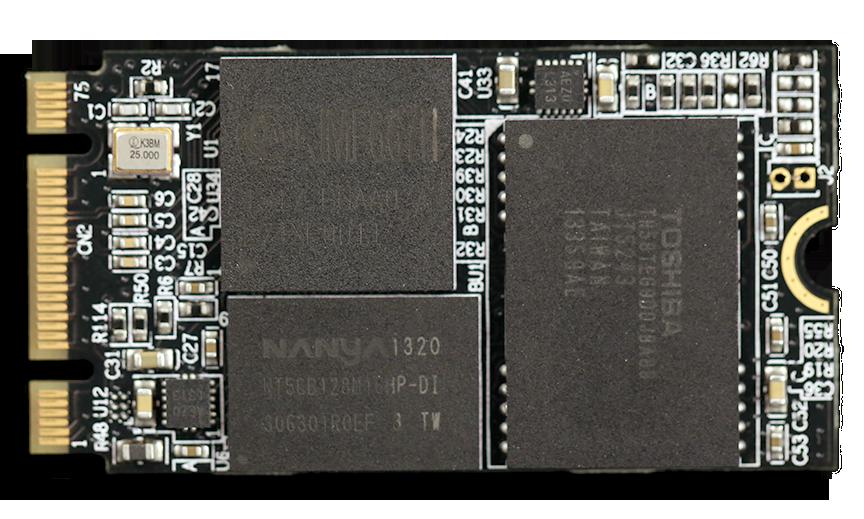 Kingspec M.2 SSD Front