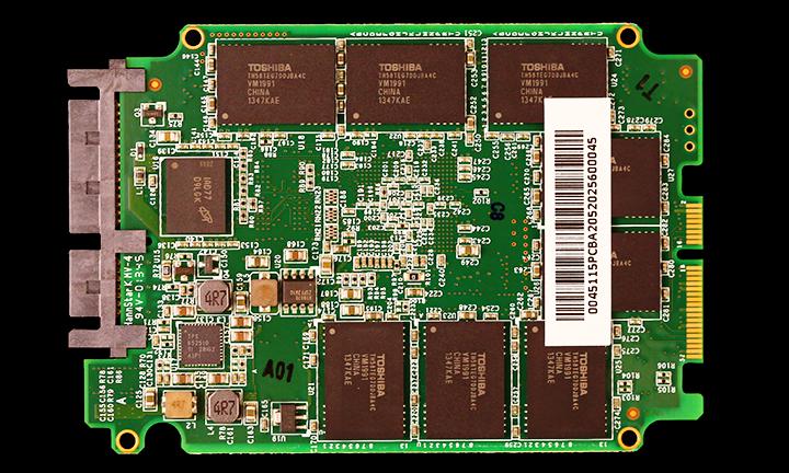 OCZ 460 SSD PCB Back