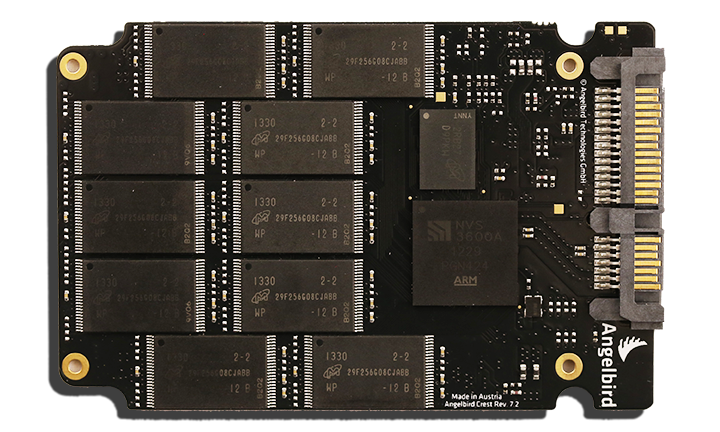 Angelbird SSD2Go External SSD PCB Back