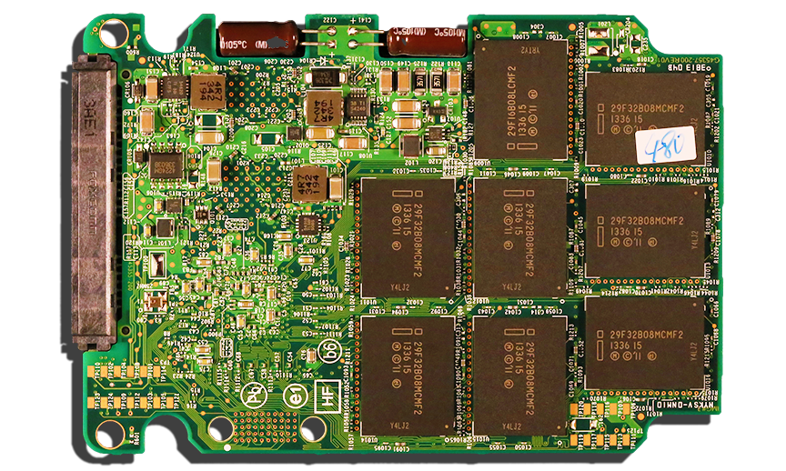 Intel SSD 730 Series SSD PCB Back