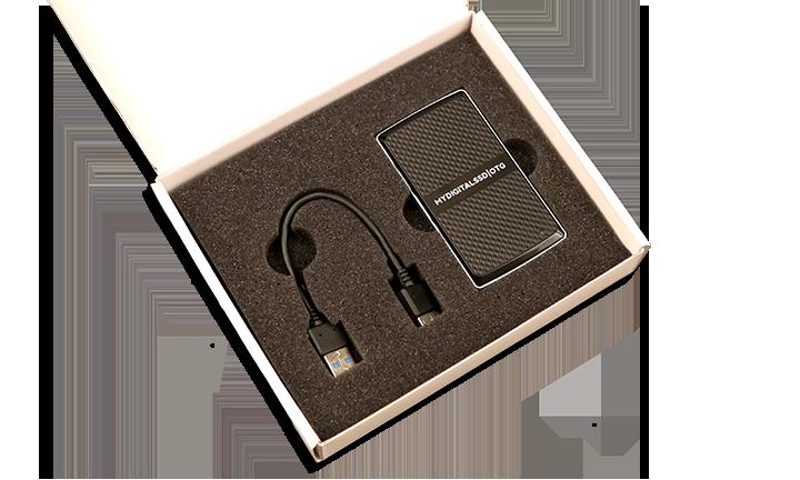 MyDigitalSSD OTG Pocket SSD Open Package