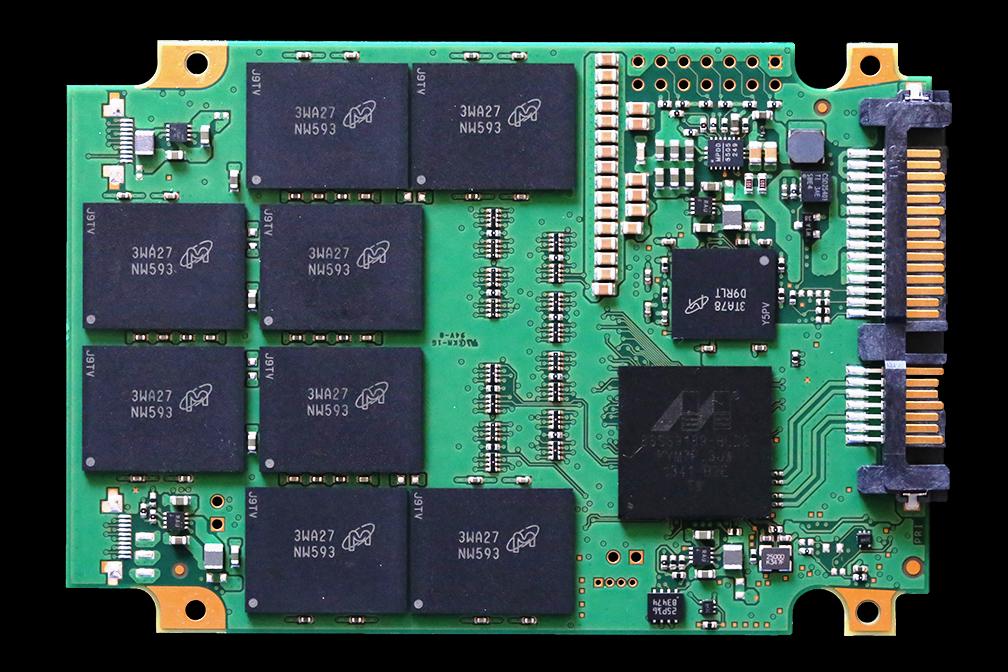 ADATA SP920 Premier Pro 1TB SSD PCB Back