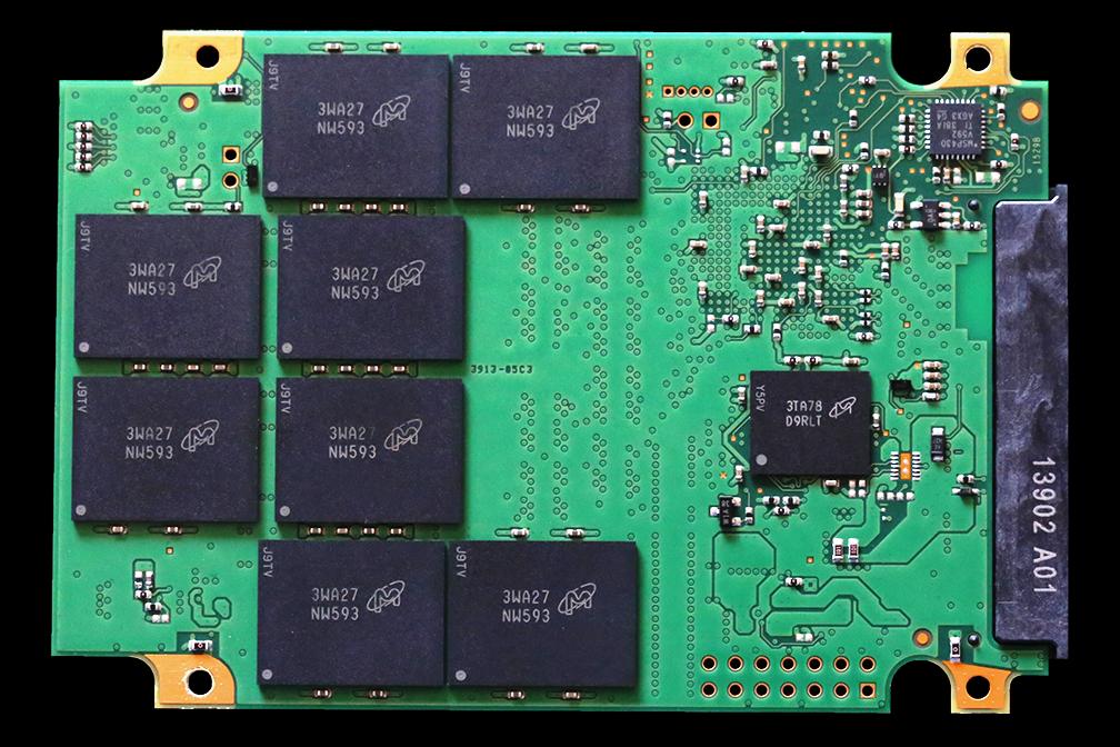 ADATA SP920 Premier Pro 1TB SSD PCB Front