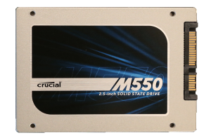 Crucial M550 1TB SSD Front