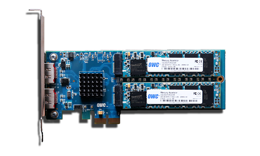 owc mercury accelsior pcie ssd firmware