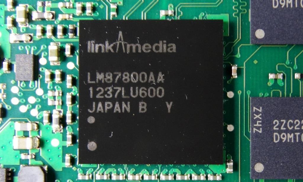 Seagate 600 Pro SSD LinkAMedia Controller