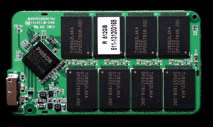 MDSSD Pocket Vault External PCB Front