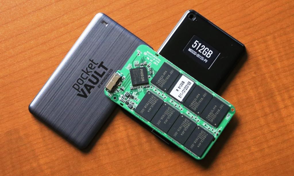 MDSSD Pocket Vault External SSD Closer
