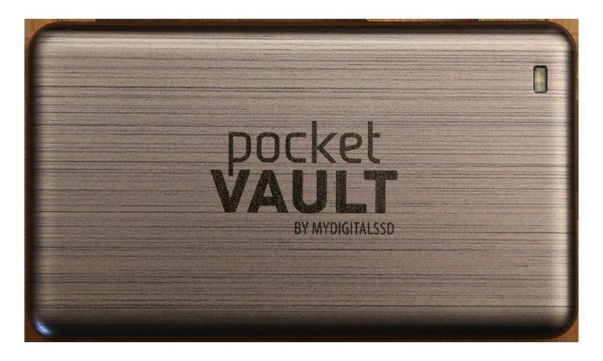MDSSD Pocket Vault External SSD Front