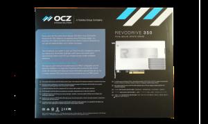 OCZ RevoDrive 350 PCIe SSD Exterior Back