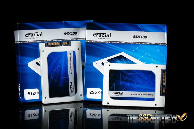 Crucial MX100 with package