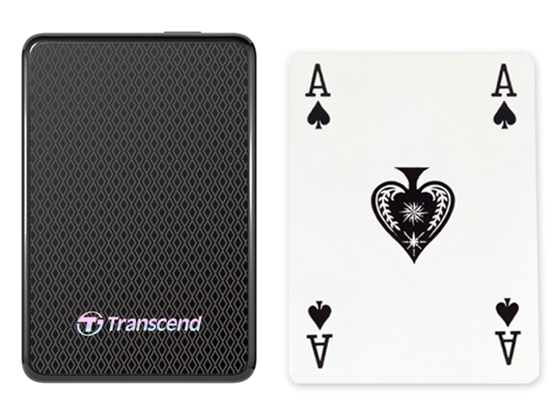 ESD400 with playing card