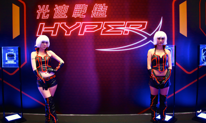 Kingston Computex HyperX OC Takeover Girls - 08