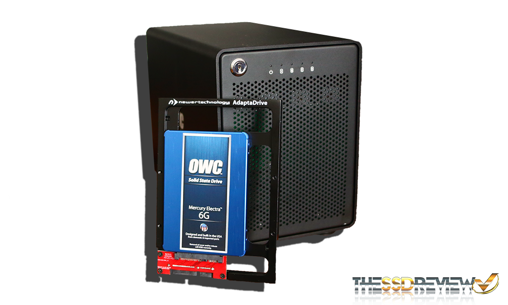 OWC ThunderBay 4 SSD and Adapter